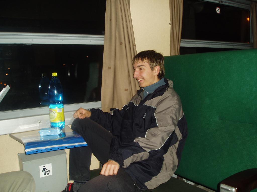 I vlakem se v roce 2004 cestovalo na zápasy